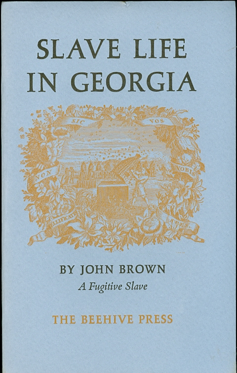 Image for Slave Life in Georgia