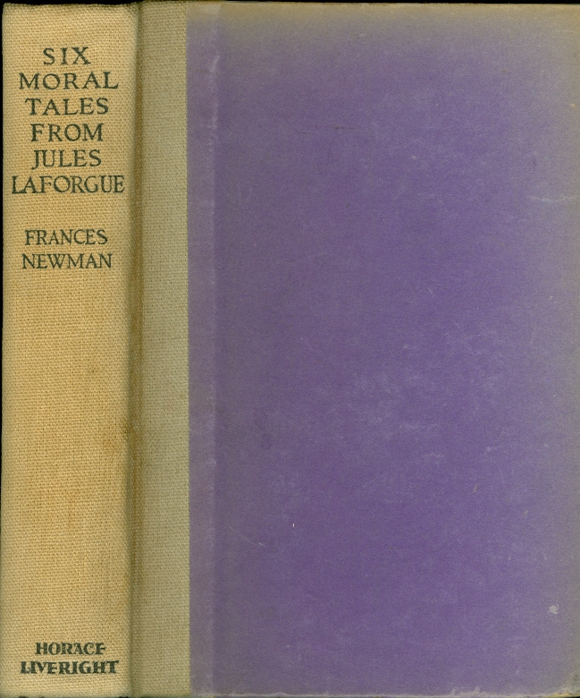 Image for Six Moral Tales from Jules Laforgue
