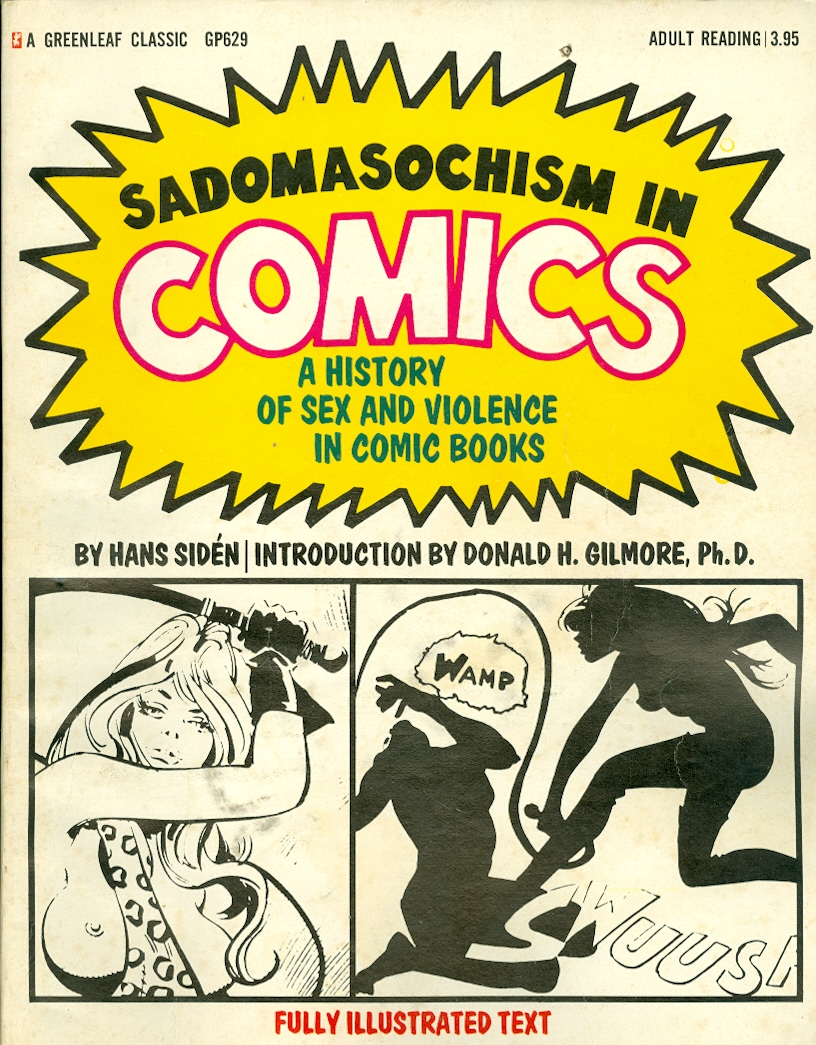 Image for Sadomasochism in Comics A History of Sex and Violence in Comic Books