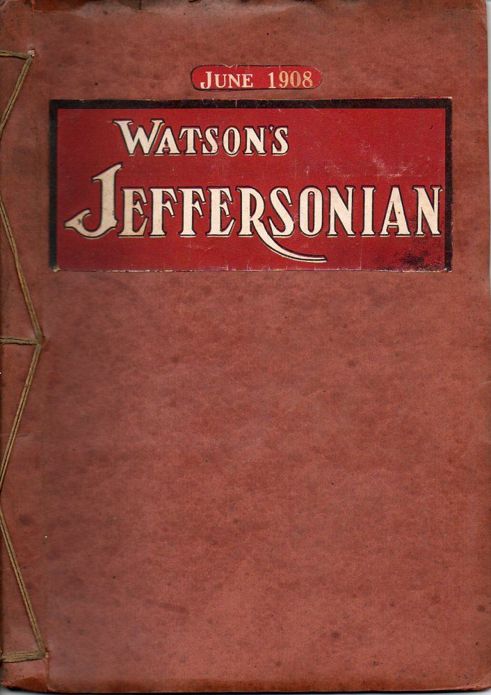 Image for Watson's Jeffersonian Magazine June 1908