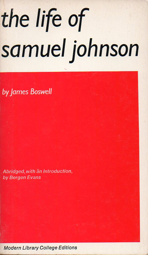 Image for The Life of Samuel Johnson