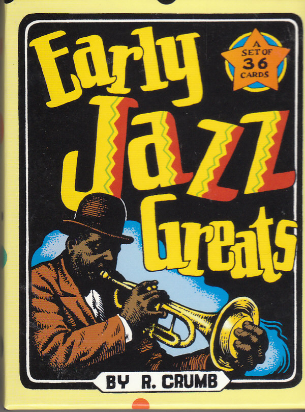 Image for Early Jazz Greats A Set of 36 Cards