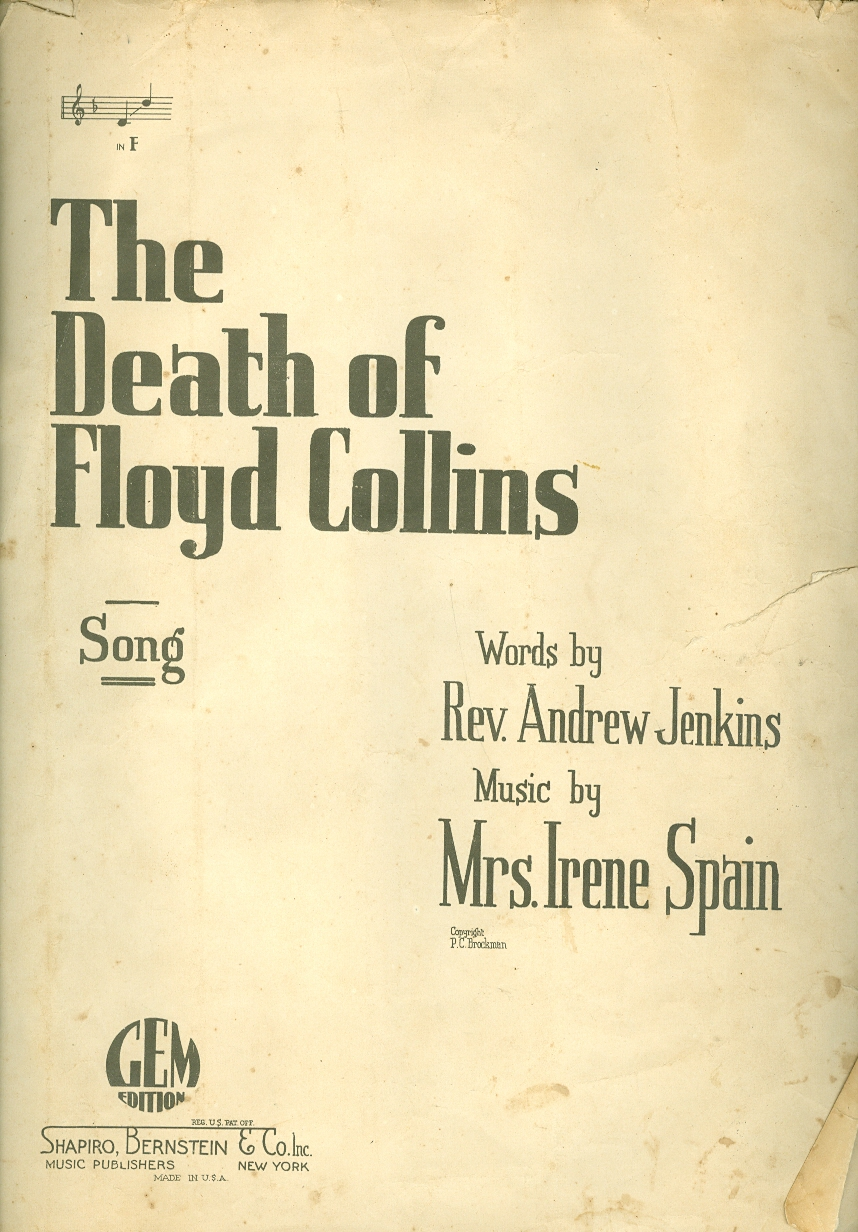 Image for The Death of Floyd Collins