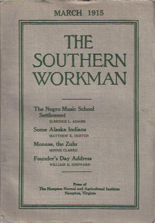 Image for The Southern Workman,  March, 1915