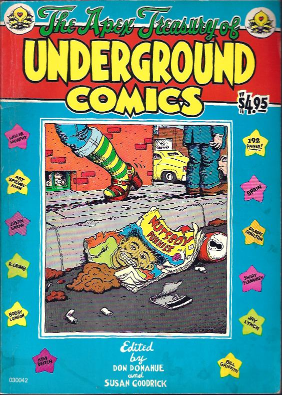 Image for The Apex Treasury of Underground Comics