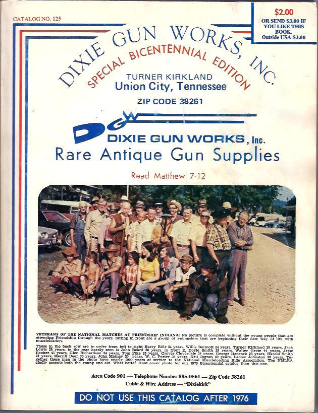 Image for Dixie Gun Works, Inc.  : Special Bicentennial Edition