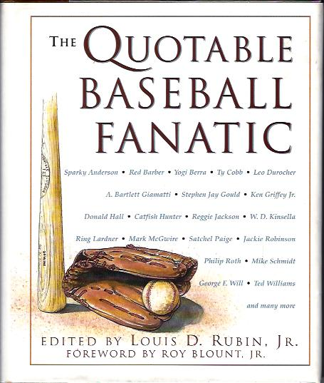 Image for The Quotable Baseball Fanatic