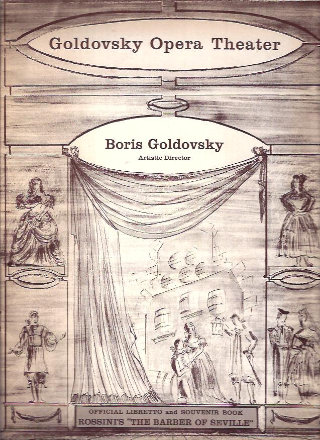 Image for Goldovsky Opera Theater :The Barber of Seville