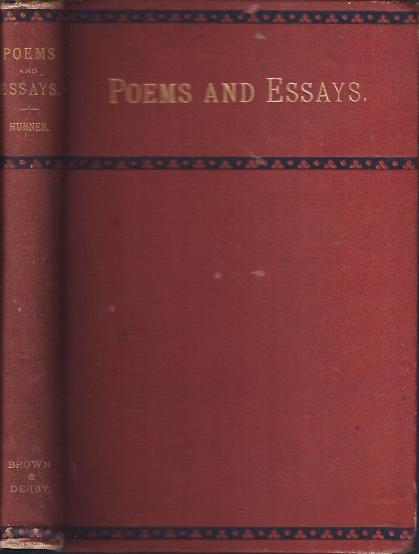 Image for Poems and Essays