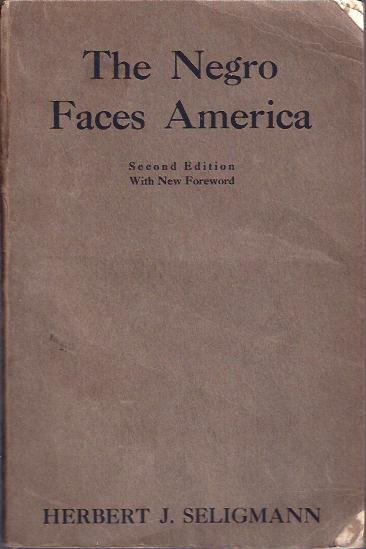 Image for The Negro Faces America