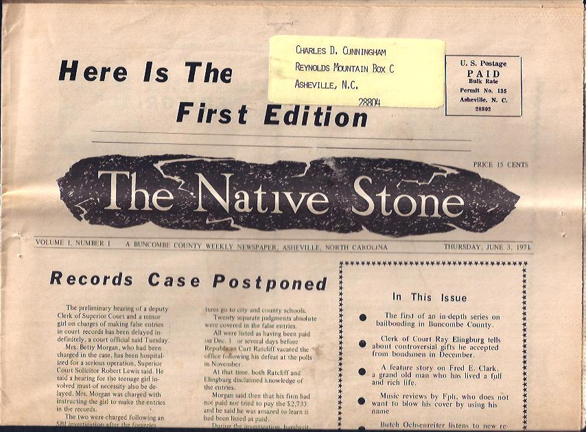 Image for The Native Stone