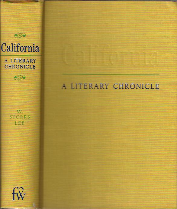 Image for California: A Literary Chronicle