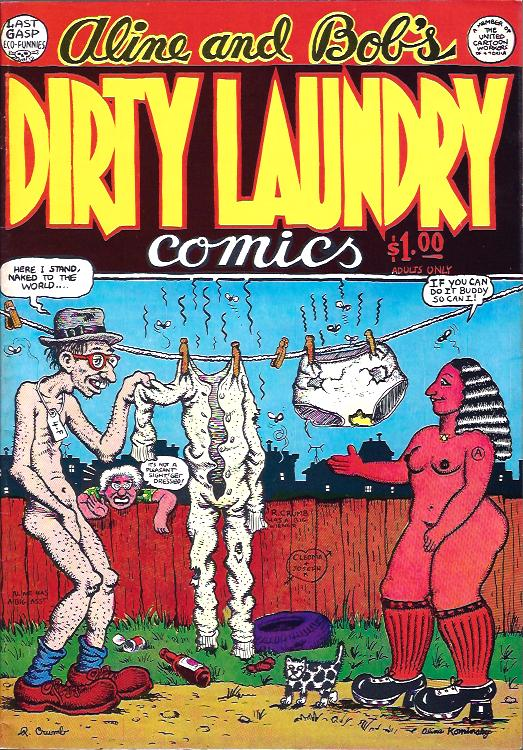 Image for Aline and Bob's Dirty Laundry Comics, No. 1