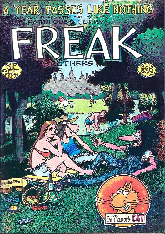 Image for A Year Passes like Nothing with the Fabulous Furry Freak Brothers, No. 3