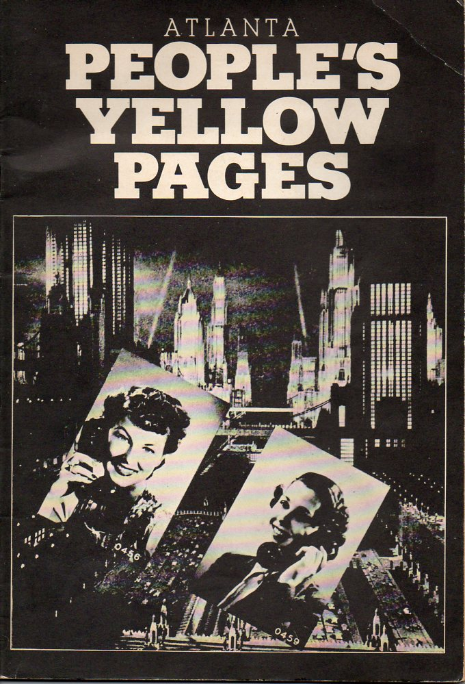 Image for Atlanta People's Yellow Pages
