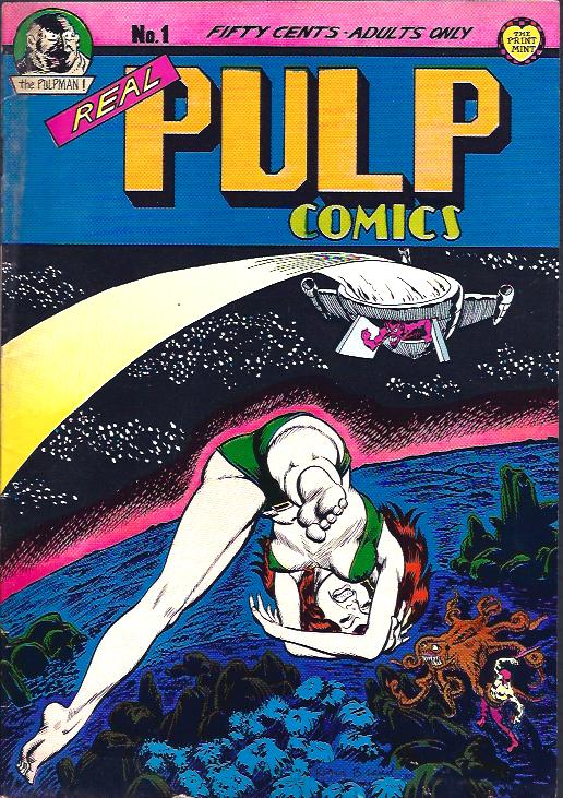 Image for Real Pulp Comics, No. 1