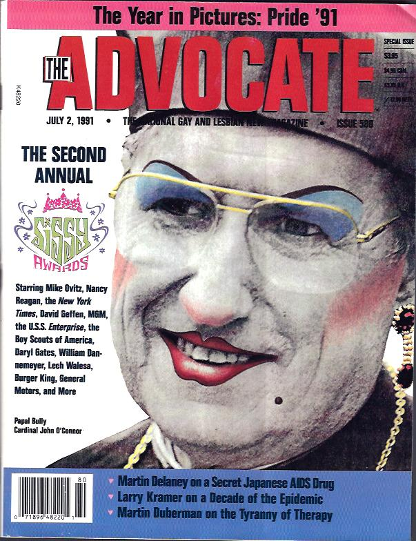Image for The Advocate : the National Gay and Lesbian News Magazine
