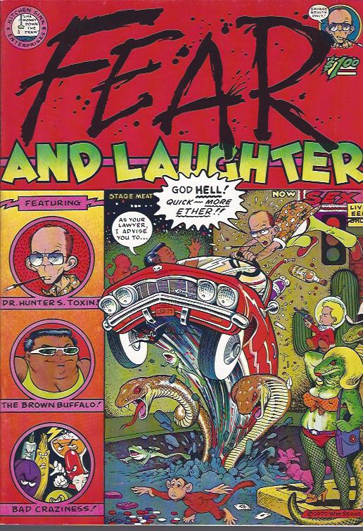Image for Fear and Laughter
