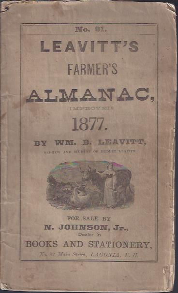 Image for Leavitt's Farmer's Almanac