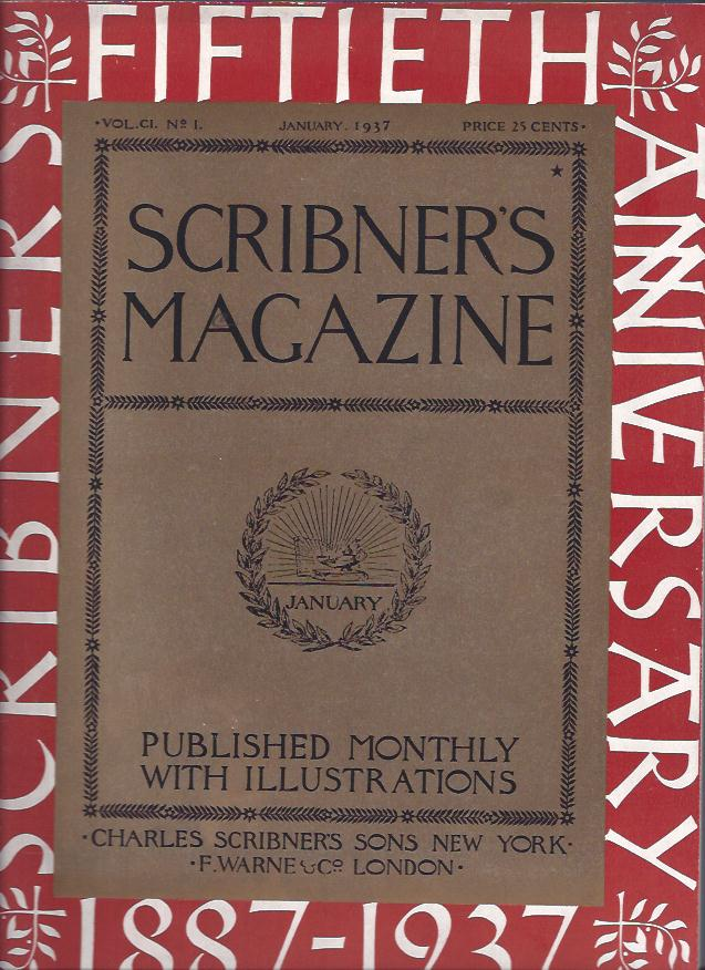 Image for Scribner's Magazine : Fiftieth Anniversary, 1887-1937