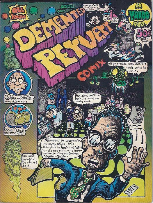 Image for Demented Pervert Comix