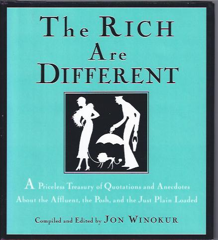 Image for The Rich Are Different