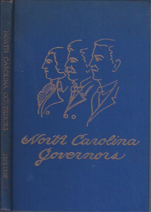 Image for North Carolina Governors, 1585-1958 :Brief Sketches