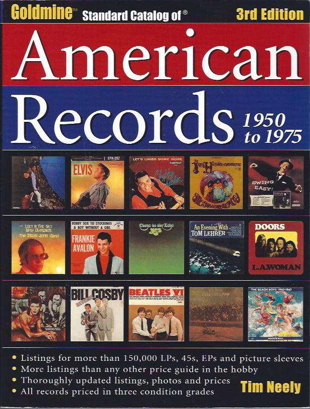 Image for Goldmine Standard Catalog of American Records, 1950 to 1975