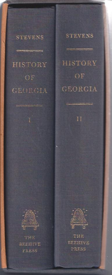 Image for A History of Georgia from Its First Discovery by Europeans to the Adoption of the Present Constitution in MDCCXCVIII