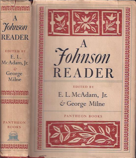 Image for A Johnson Reader