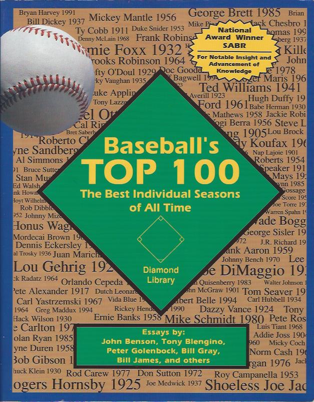 Image for Baseball's Top 100 : the Best Individual Seasons of all Time