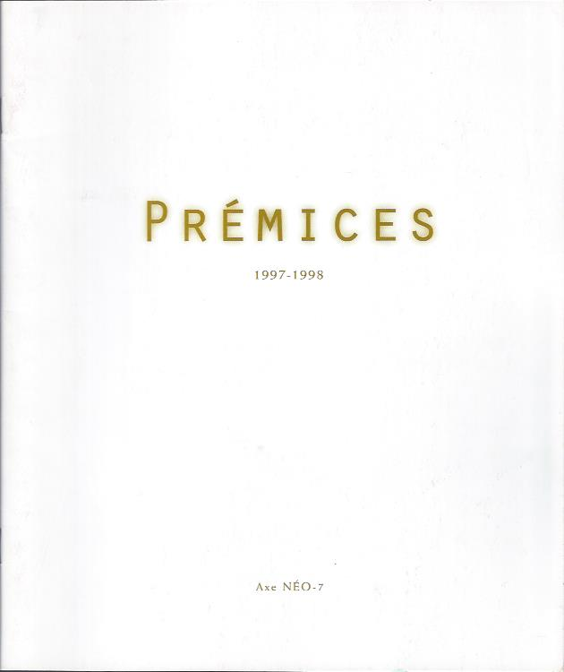 Image for Premices, 1997-1998