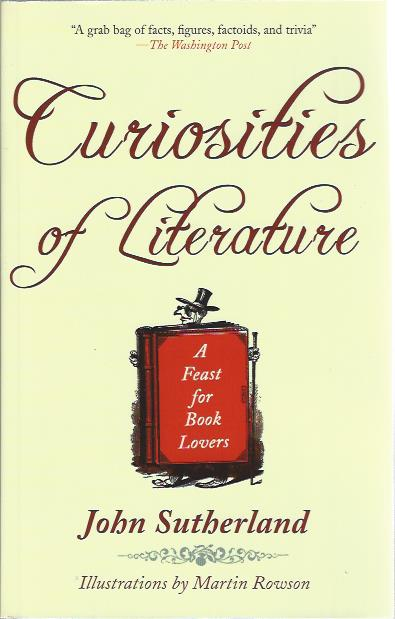 Image for Curiosities of Literature : A Feast for Booklovers
