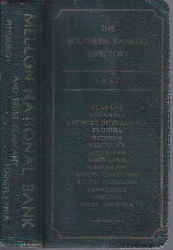 Image for The Southern Bankers Directory, 1954 Edition