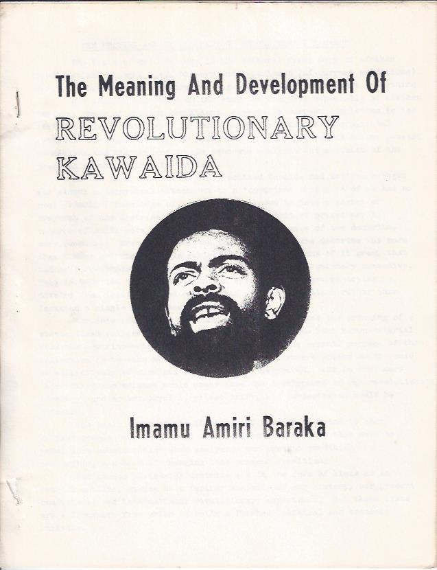 Image for The Meaning and Development of Revolutionary Kawaida