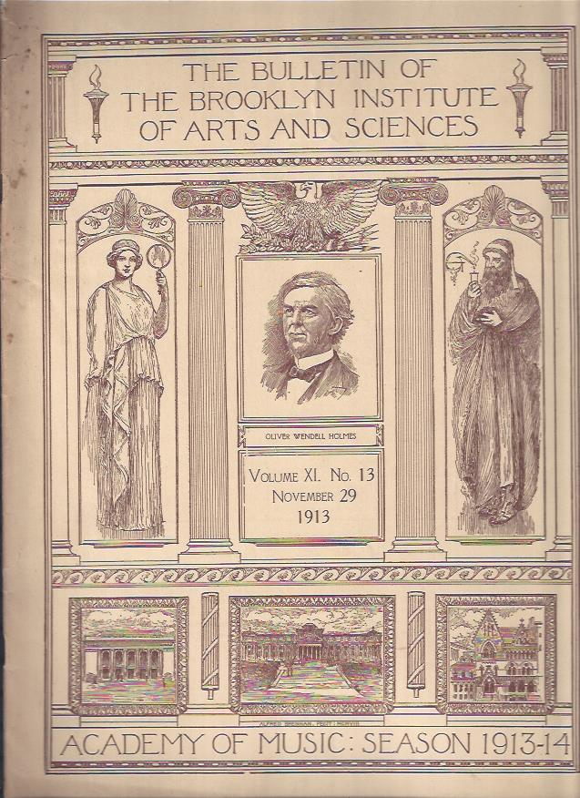 Image for The Bulletin of the Brooklyn Institute of Arts and Sciences