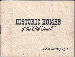"Image for Historic Homes of the ""Old South"""