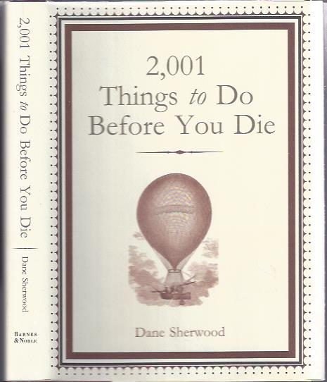 Image for 2001 Things to Do before You Die