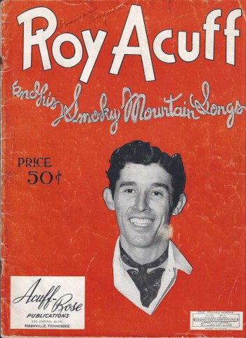 Image for Roy Acuff and His Smoky Mountain Songs