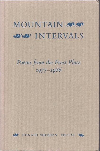 Image for Mountain Intervals : Poems from the Frost Place, 1977-1986