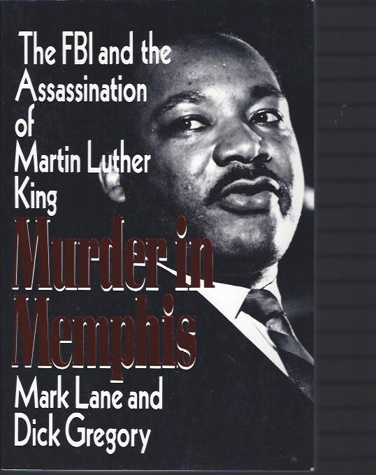 Image for Murder in Memphis : The FBI and the Assassination of Martin Luther King