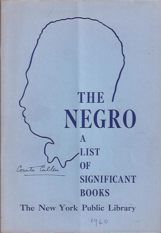 Image for The Negro : A List of Significant Books
