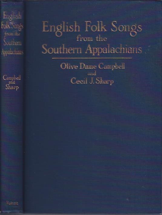 Image for English Folk Songs from the Southern Appalachians
