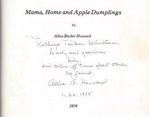 Image for Mama, Home and Apple Dumplings