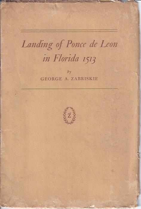 Image for Landing of Ponce De Leon in Florida in 1513