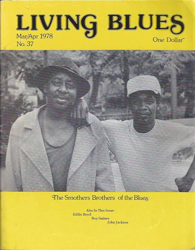 Image for Living Blues : A Journal of the Black American Blues Tradition