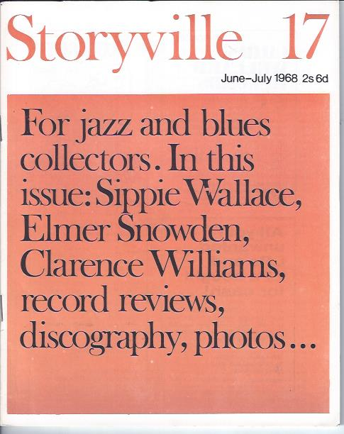 Image for Storyville 17, June-July 1968