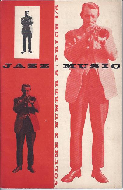 Image for Jazz Music, Volume 3, Number 8.
