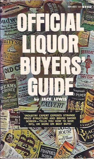 Image for Official Liquor Buyers' Guide