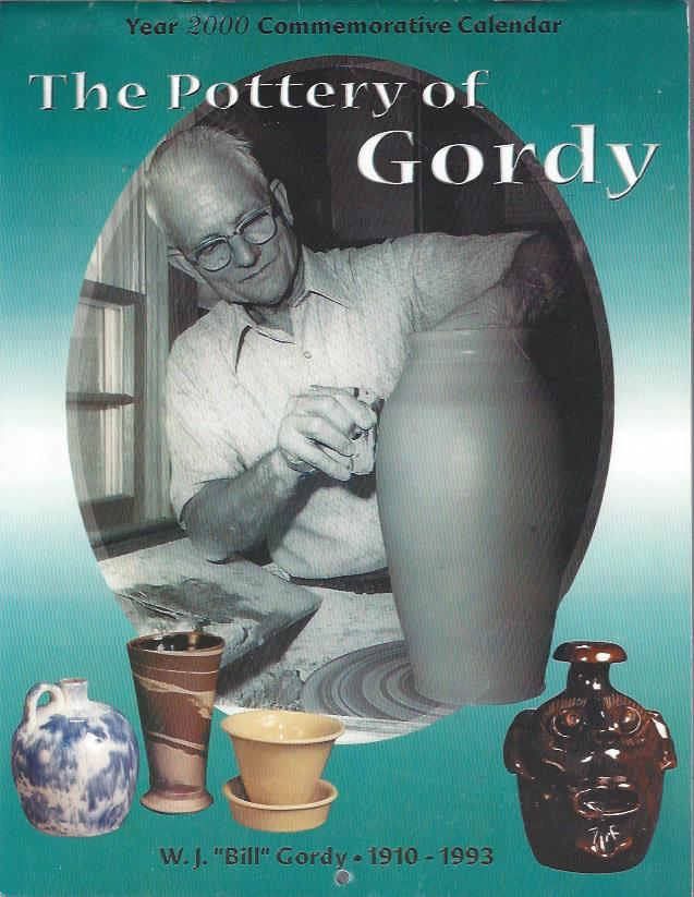 Image for The Pottery of Gordy Year 2000 Commemorative Calendar